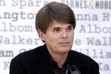 "Dean Koontz 2004 Los Angeles Times ""Festival Of Books"" UCLA Main Campus West Hollywood, California United States April 24, 2004 Photo by Jason Merritt/FilmMagic.com  To license this image (2612874), contact FilmMagic: +1 310-458-1423 (tel) +1 310-917-1288 (fax) sales@filmmagic.com (e-mail) www.filmmagic.com (web site)"