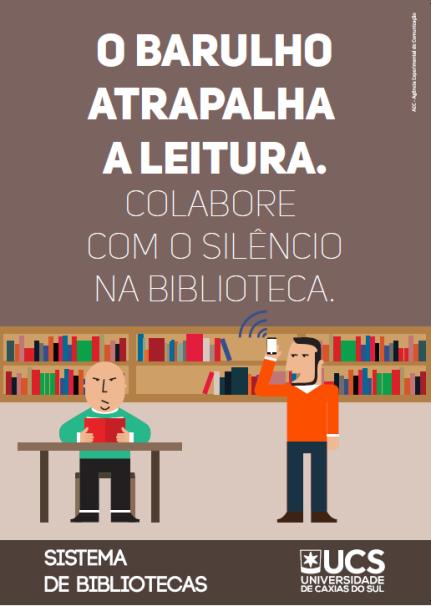 barulho atrapalha na biblioteca