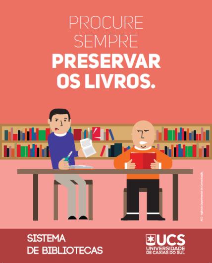 preservar os livros