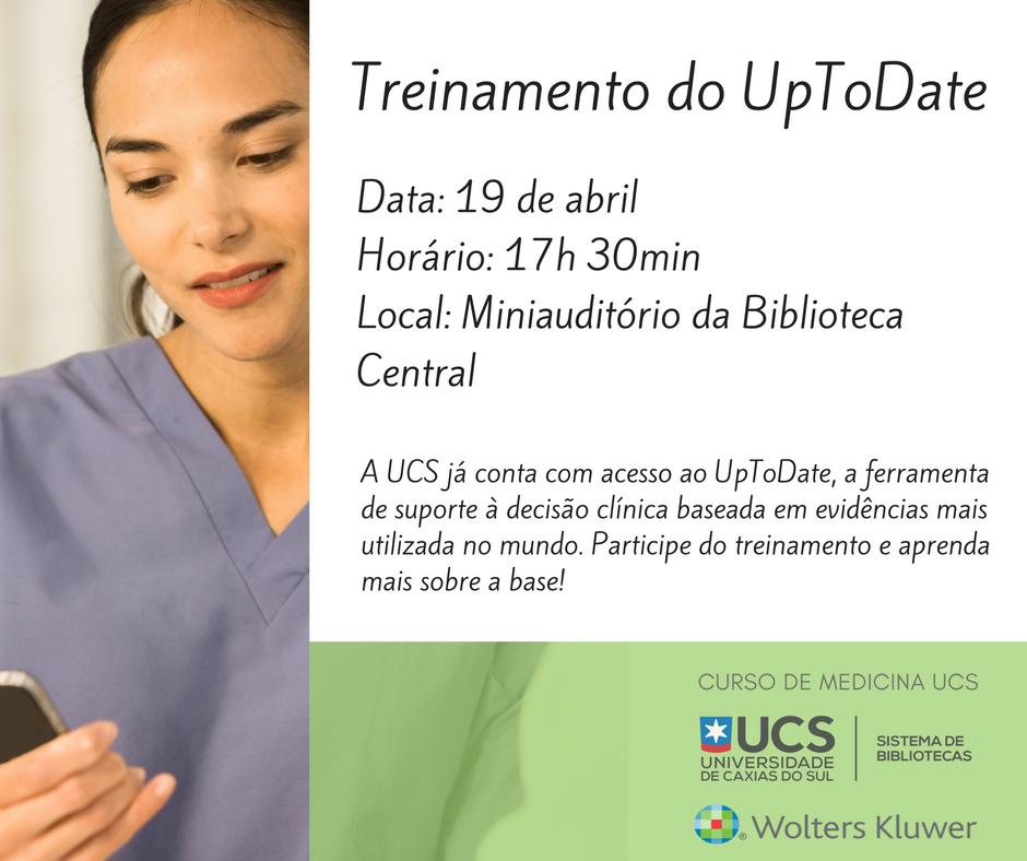 Treinamento do UpToDate (2)